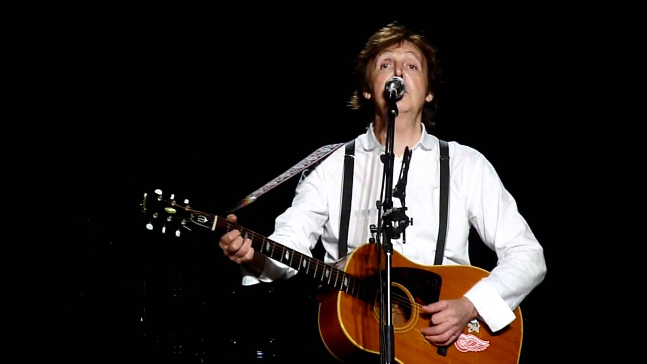 Yesterday Paul Mccartney Sao Paulo