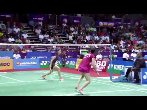 Ratchanok Intanon vs Carolina Marin | WS SF Match 2 - YONEX Sunrise India Open 2015