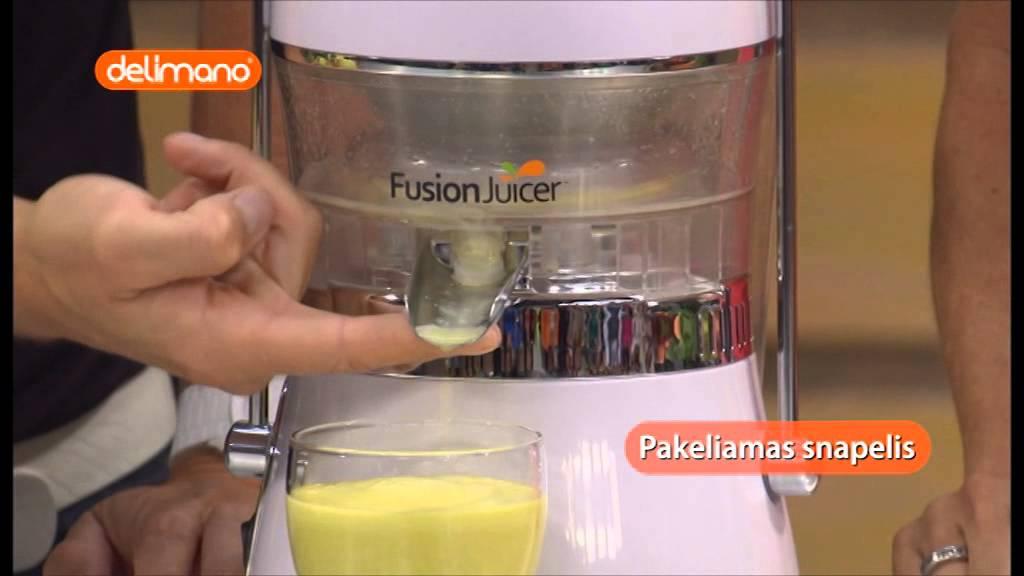 Hurom Slow Juicer Saudi Arabia : Delimano Fusion Juicer sul?iaspaud? Doovi