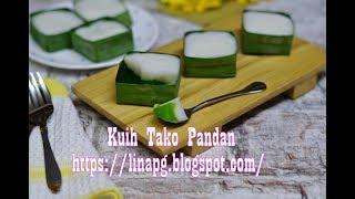 Kuih Tako Pandan Paling Sedap Dan Mudah | Kuih Tradisional | Water Chesnut Coconut Dessert Recipe