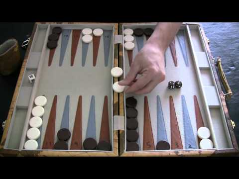Beginner Backgammon Tutorial - 3 - Hitting and Re-Entering
