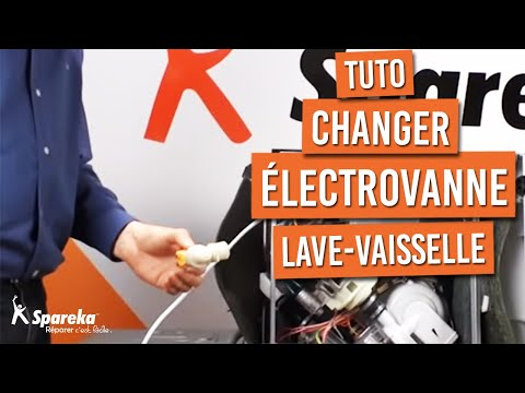 remplacer electrovanne lave vaisselle youtube