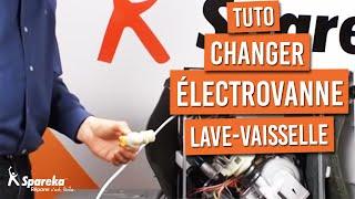 Comment changer l'électrovanne d'un lave-vaisselle ?
