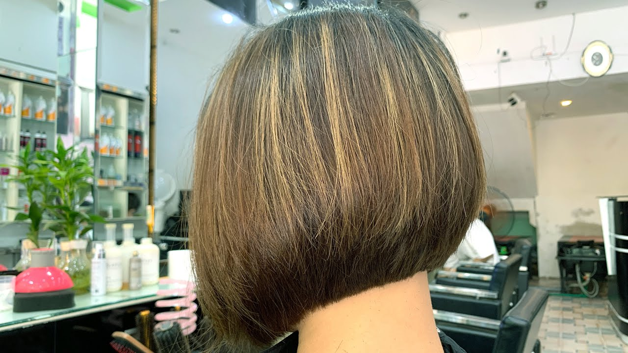 Graduation Bob Hair Cut | - part 2