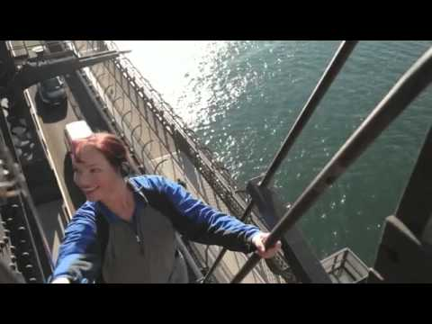 Climbing Sydney Harbour Bridge, New South Wales Australia