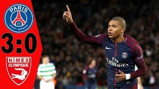 Paris Saint Germain 3 0 Nimes  HIGHLIGHTS & ALL GOALS Full HD