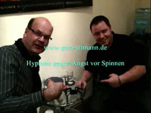 spinnen phobie hypnose gegen angst vor spinnen gero altmann youtube