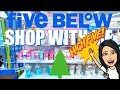FIVE BELOW CHRISTMAS SHOPPING!!! $1 to $5 *JUMBO* BATH BOMBS, NEW CLOTHES, CHRISTMAS DECOR & MORE!!!