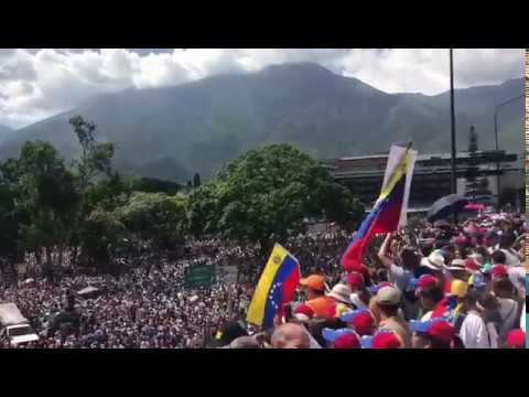 #Venezuela May20 Opposition Protest March in Caracas