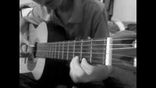 Ngây Ngô - Hoàng Yến - Guitar solo demo (ghostnight)