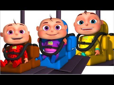 Five Little Babies Playing Pendulum Swing (Single) | Zool Babies Fun Songs | Nursery Rhymes For Kids