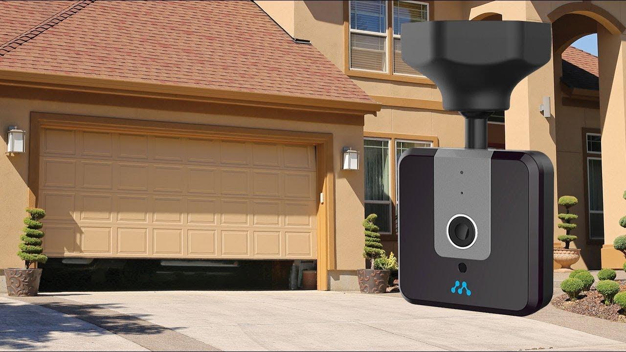 Meet The New Momentum Wifi Garage Door Controller With Camera Youtube