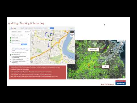 Google Maps Tackles Insurance Applications -- Allianz Global Assistance Case Study