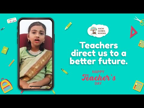 Happy Teachers Day from our Globalites