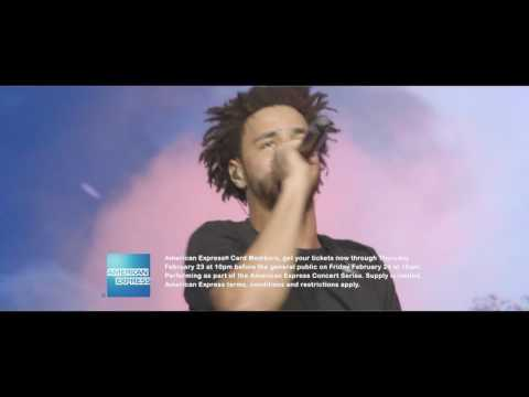 J. Cole at American Airlines Center on August 20, 2017