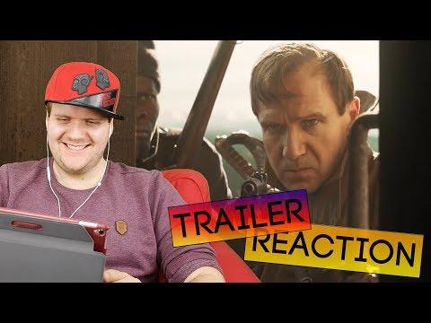 THE KINGS MAN Trailer 2 Reaction Deutsch German [4K][2020]