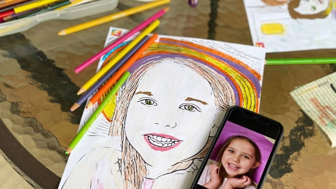 Turn Your Fave Photos into Custom Coloring Pages with this ...