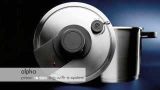BRK Alpha pressure cooker system
