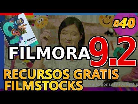 FILMORA 9 : MÁS RECURSOS GRATUITOS: música, efectos sonoros, videos, imágenes Filmstocks Tutorial 40