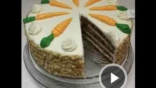 Carrot Cake Recipe : By The World Cooking