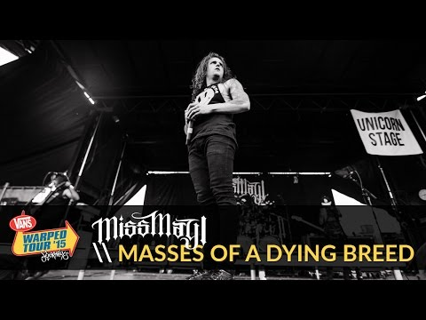 Miss May I - Masses of a Dying Breed (Live 2015 Vans Warped Tour)