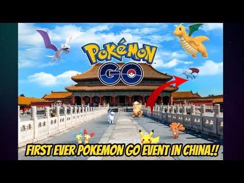New Pokemon Go Event Announced in China Salamance Dragonite Absol Spawns   Xiamen Exhibition