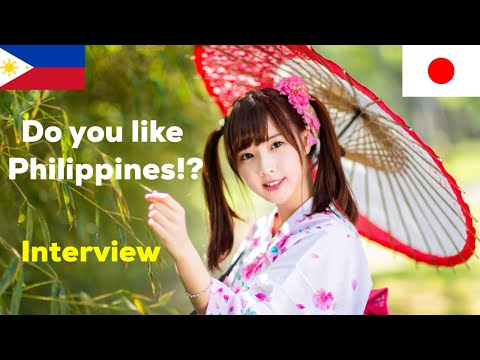 What Japanese Think of Philippines and Filipinos? Interview