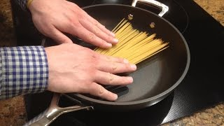 How To Cook Pasta Using Only A Frying Pan