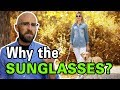 Why Do Blind People Wear Sunglasses?