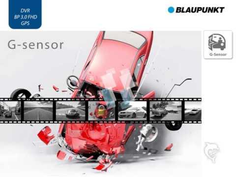 Blaupunkt Dashcam DVR BP 3.0 FHD GPS