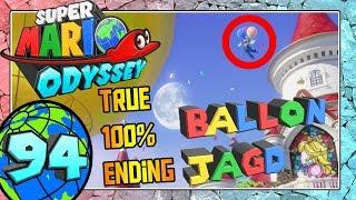 SUPER MARIO ODYSSEY Part 94: Ballon-Jagd im Mondland + Eure Ballons + True 100% Ending