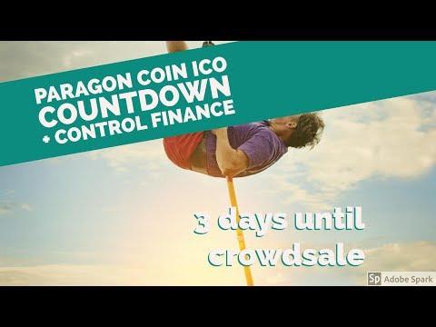Paragon Coin ICO Countdown : 3 Days! + Control Finance