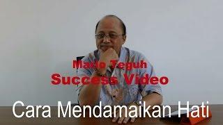 Cara Mendamaikan Hati  - Mario Teguh Success Video