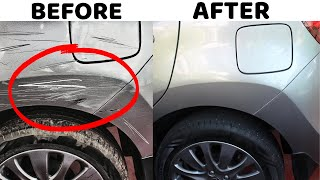 How to remove scraтches from Car   CAR SCRATCH REMOVAL in 2 Minutes