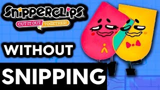Can You Beat Snipperclips Without Snipping Each Other? - No Snip Challenge