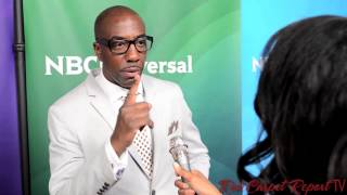 JB Smoove at the 2014 NBCUniversal Summer Press Day #NBCU @ohsnapjbsmoove