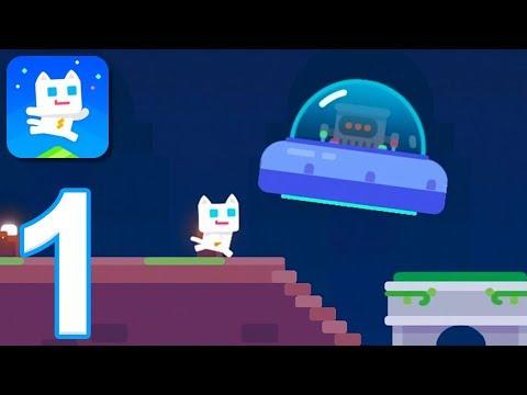 Super Phantom Cat 2 - Gameplay Walkthrough Part 1 - Mystic Forest (iOS)