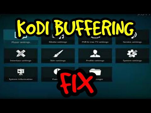 Kodi 17 1 17 2 17 3 Video Buffering and Stuttering fix Correct Way!!!