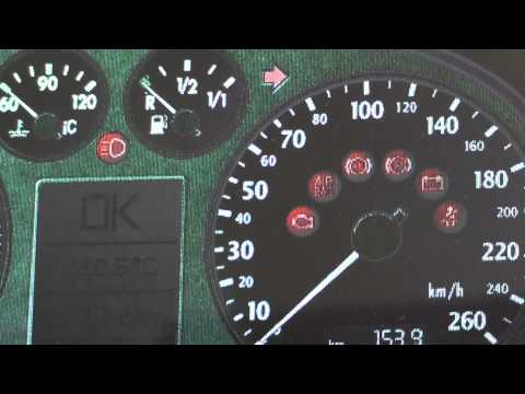 Audi A4 B6 Dashboard Warning Lights & Symbols   What They Mean
