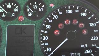 audi a4 b6 dashboard warning lights symbols what they mean