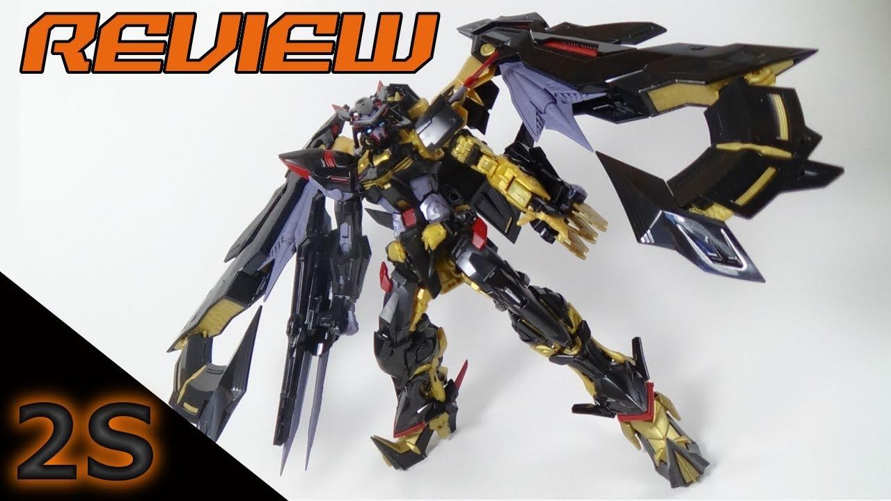 RG Gundam Astray Gold Frame Amatsu Mina Review | 1/144 Gundam SEED ...