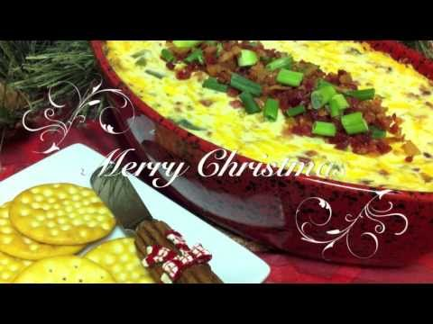 How to Make Hot Bacon Cheddar Dip ~ Christmas Party Dip Recipe