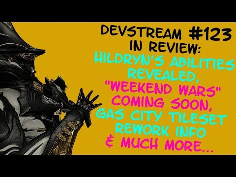 "Warframe - HILDRYN's Abilities Revealed, ""WEEKEND WARS"" Incoming + More! - Devstream #123 in Review! thumbnail"