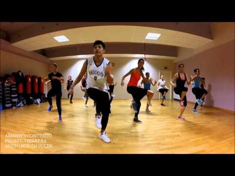 Zumba Fitness , Secreto El Famoso Biberon - Amaneci Contento Coreografia By Pegatejherrera