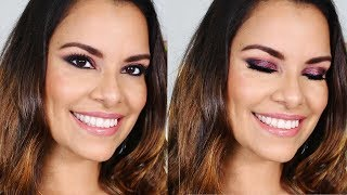 RESALTA TUS OJOS CAFÉ CON ESTE LOOK - NHAR MAKE UP STUDIO