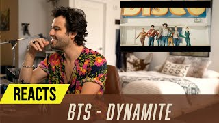 Producer Reacts to BTS (방탄소년단)- Dynamite
