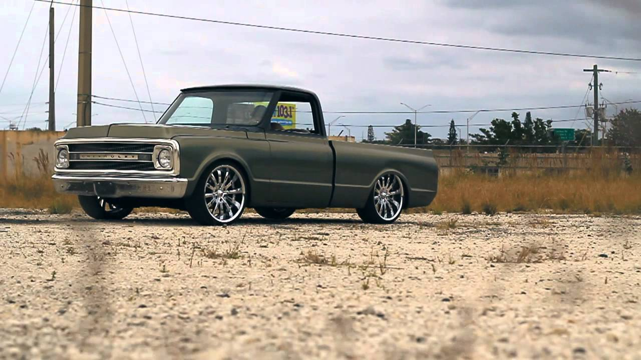 All Chevy 1969 chevy c10 for sale : Andy's Bagged Chevy C10 - YouTube