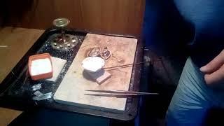 Школа ювелира урок №3Тигель для переплавки  драг металлов. В чем плавят золото и серебро!