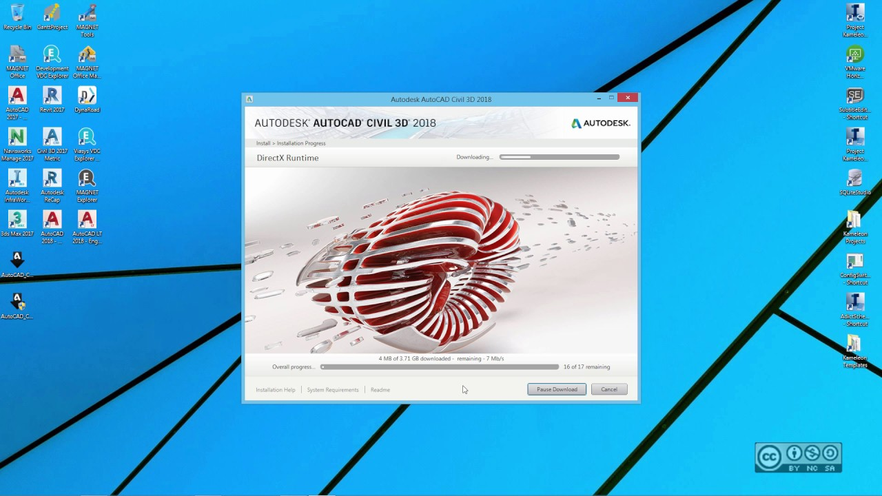 AutoCAD Civil 3D 2018 - Installation