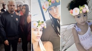 Kim Kardashian Throws Kardashian Family Viewing Party | FULL VIDEO